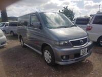 MAZDA BONGO CAMPERVAN WITH SIDE CONVERSION AND ROCK AND ROLL BED