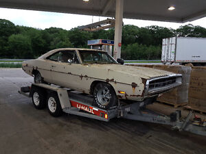 1970 charger barn find