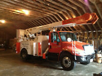2005 INT, DT466 ,, ALLISON TRANS 60 FT ALTEC