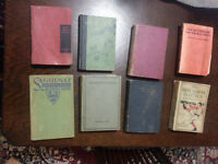 OLD Novels and Books