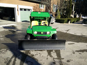 *Pending Sale*JD Gator 6' Plow Electric Actuator not a winch!