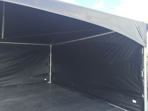 MARQUEE TENT-BLACK 20x20