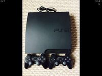 PS3 slim with 11 games