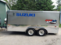 U.S. quality built trailer --- Motorcycle or equipment transport