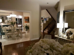 EXECUTIVE FURNISHED HOME IN OAKVILLE