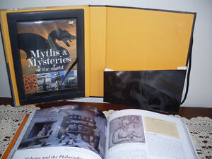 Myths & Mysteries of the World, DVD and book set.