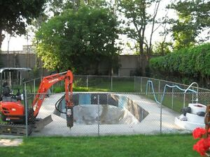 Swimming Pool Removal Cornwall Ontario image 1
