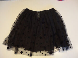 Halloween Costume skirt - Hottopic, Brand New, Black with stars