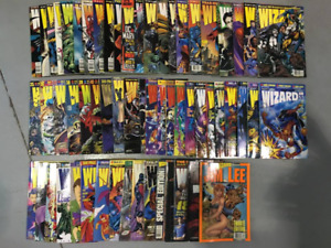 Wholesale Lot - Comic Books - Wizard Series