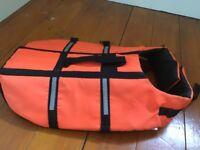 Dog Life Saver Jacket Vest Florescent M medium