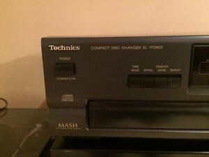 Technics SL-PD-665 5 Disc CD Player