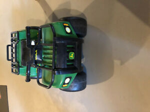 John Deere sit and scoot buck with lights and sounds