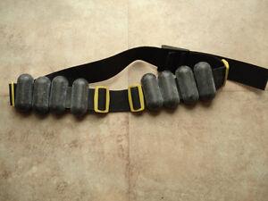 Scuba lead weight belt