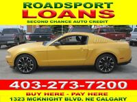 2012 FORD MUSTANG 6 SPD$29 DN TO QUALIFY BAD CREDIT OK APPLY Calgary Alberta Preview