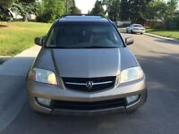 2003 Acura (MDX) very low mileage ( NAVIGATION)