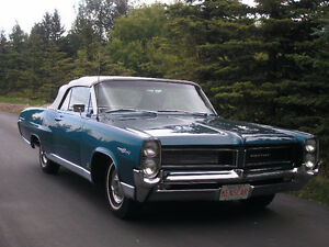 Restored 1964 Pontiac Parisienne Custom Sport Convertible