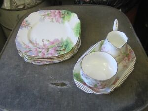 1960s ROYAL ALBERT BLOSSOM TIME FINE BONE CHINA $10 to $20 EA.