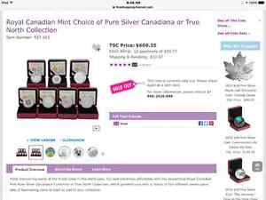 "Royal Canadian Mint- ""TRUE NORTH"" 2014 Coin Collection Sarnia Sarnia Area image 10"