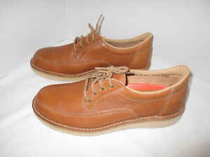 Never Worn, Mens Tan, Leather Shoes, size 10, width EEE