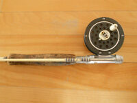 Canne moulinet # 1/2, truite Fly fishing rod and reel