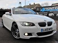 2009 BMW 3 SERIES 325I M SPORT CABRIOLET 6 SPEED MANUAL PETROL CONVERTIBLE PETRO
