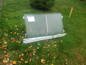 FREE glass, mirrors, blinds, outdoor decor, composters, water ba