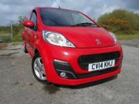 2014 14 PEUGEOT 107 1.0 ALLURE 5D 68 BHP**SUPER LOW MILEAGE**ZERO ROAD TAX**CHEA