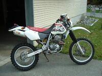 1997 Honda XR400R Street Legal