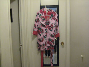 Floral Print Jacket and Skirt Set S/A
