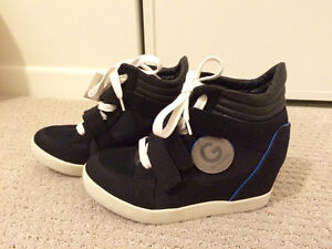 GUESS wedge sneakers 6.5