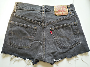 Short Levi's en denim 501