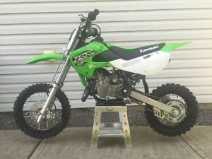 2016 Kawasaki KX65 showroom condition 0.9hrs