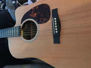 Martin acoustic electric guitar - asking $800