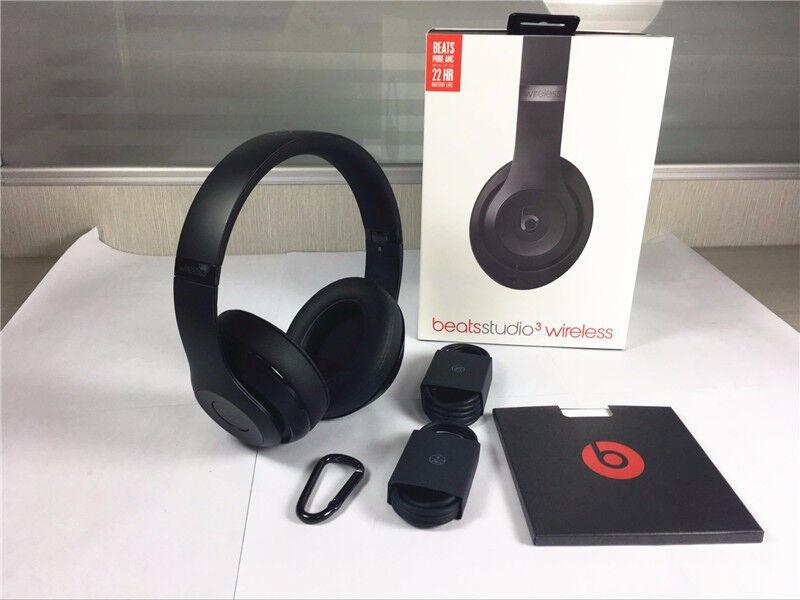 Brand New Beats Studio 3 Wireless Over Ear Headphones - Matte Black b90e96a54