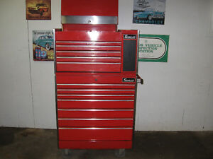 snap-on roller tool box with mixed tools  REDUCED  $3500