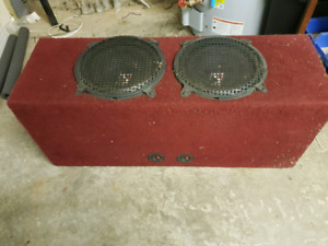 2-12inch kicker subwoofers Boxed