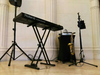 DUO available for events (saxophone & keys)