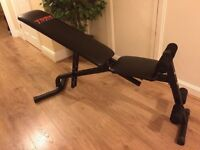 York fitness weight lifting bench - incline - decline