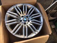 BMW alloys spiders 19 inch sport e60 5 series