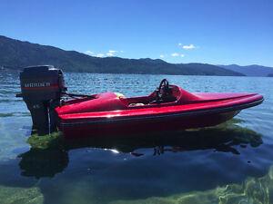 10' Restored Mini Speed Boat