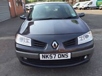 Renault Megane 2007 Full service history two extra key no scratch no damage 1.6 Low mil
