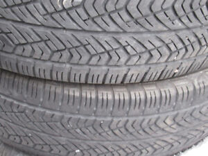 4- P225/65R16 ALL WEATHER MUD AND SNOW TIRES