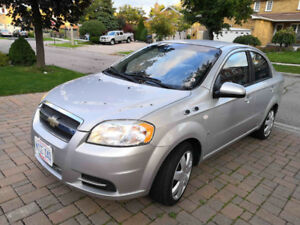 2008 Chevrolet Aveo LS, 147300 kms, good condition, lady driver