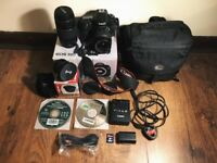 Canon EOS 60D Camera (with EF-S 18-55mm & 75-300mm lenses)