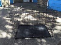 Lovely large or medium dog cage