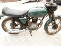 BSA B40 X WD DANISH MILITARY CLASSIC MOTORCYCLE RESTORE AND RECOMMISSION