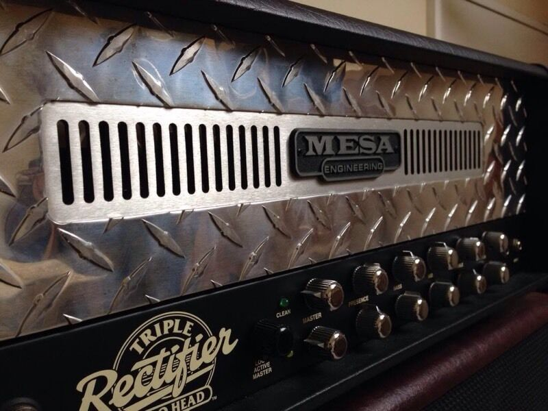 Mesa Boogie Triple Rectifier Amp Heads Mesa Boogie Triple Rectifier Amp Head Sale or Trade For Diezel Evh 5150