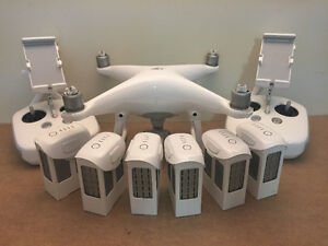 PHANTOM 4  Complete KIT Many Extras. Used for 5 flights