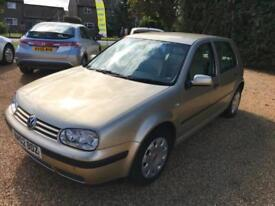 2002 Volkswagen Golf 1.9TDI PD ( 100bhp ) Full Service Cambelt done at 121k