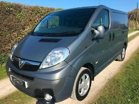 2012 62 VAUXHALL VIVARO SPORTIVE VAN GREY ONE OWNER FROM NEW LOW MILES NO VAT